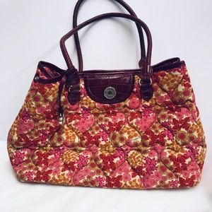 Brighton Floral Quilted Hand Bag
